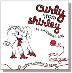 Curly from Shirley, The Christchurch Dog, written by Emma Pullar